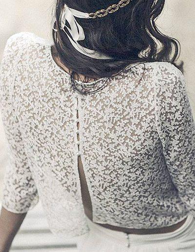 galería vestidos - modelo Crop Top | yennynovias.cl