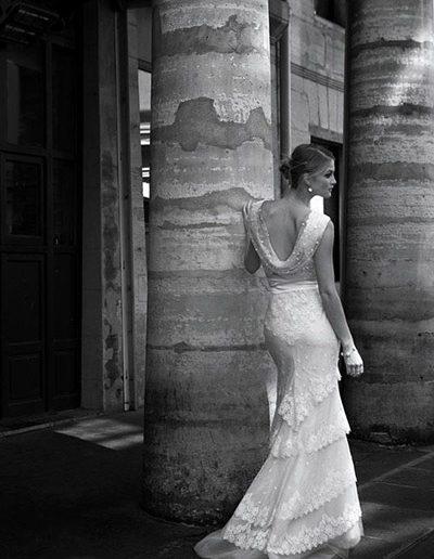 galeria fotografias vestidos - modelo transparencia yennynovias.cl