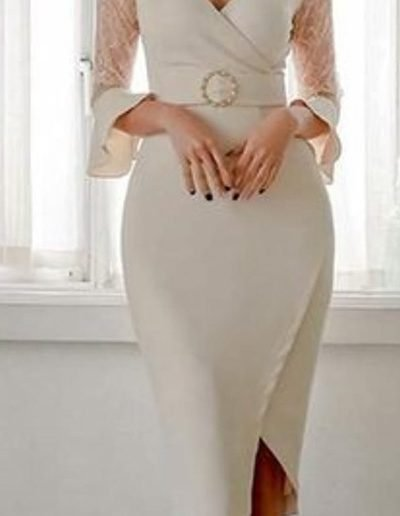 Vestido modelo para ceremonias civil yennynovias.cl