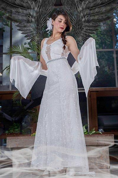Vestido modelo para ceremonias civil